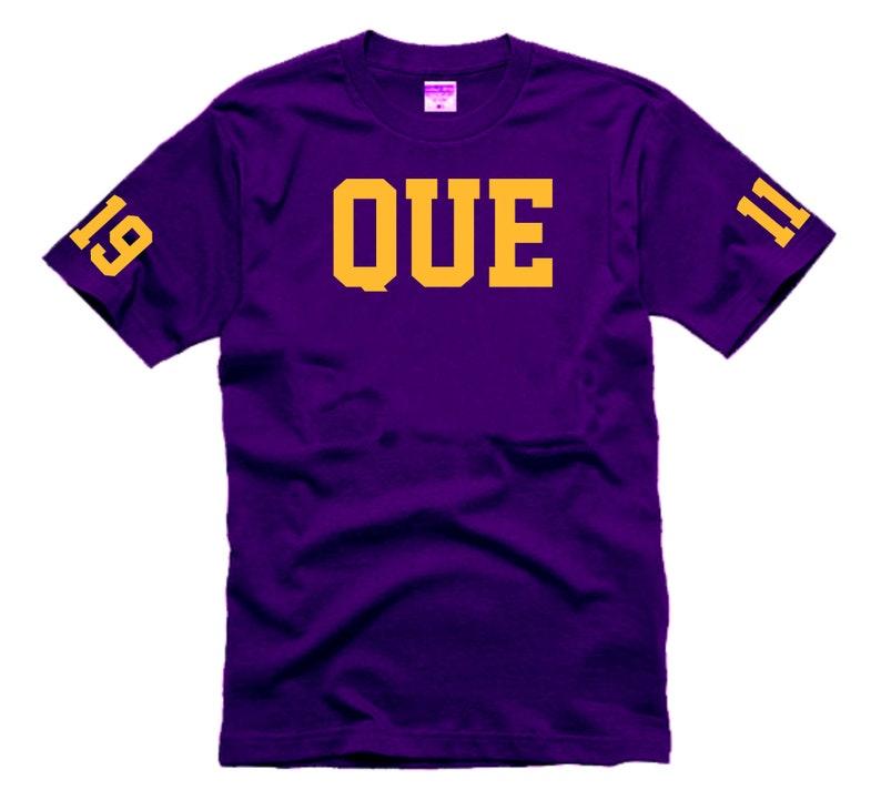 Omega Psi Phi QUE 1911 T-shirt image 0