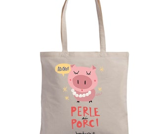 """Pearls for Pigs"" Shopper 