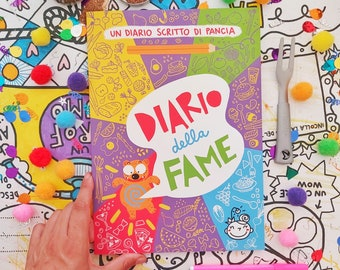 Hunger Diary | | Diet Agenda 100 color pages