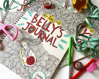 The Belly's Journal | Pregnancy journal by Burabacio | Maternity | Wholesale available