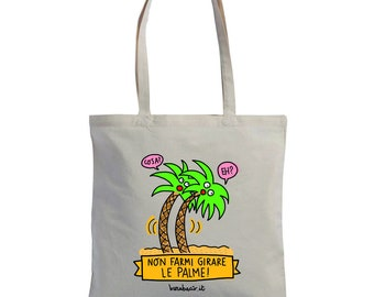 "Shopper ""Don't make me Turn the Palms"" 
