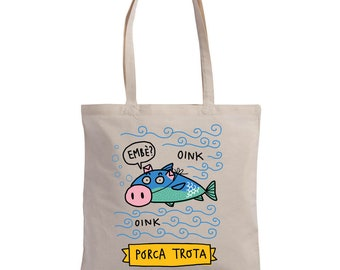"Shopper ""Porca Trota"" 