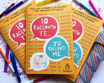 I tell you, you tell me with Mommy   Activity Book mom-child   Burabacio