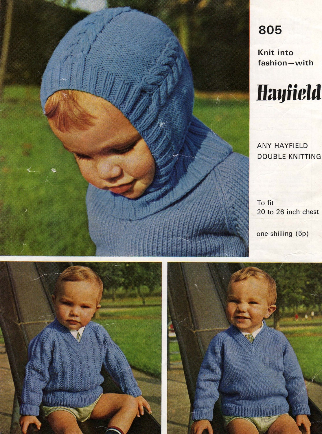 Balaclava Pattern, Baby Helmet Pattern, Vintage Knit, Child Knit ...