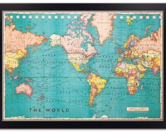 cork board world map framed cork board map world map map on cork