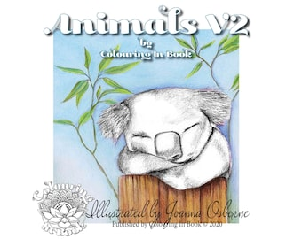 Animals V2 by Colouring In Book