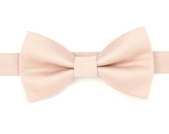 b02b5ce7a595 Blush bow tie,Petal bow tie,Wedding bow tie for Men,Toddlers ,Boys,baby