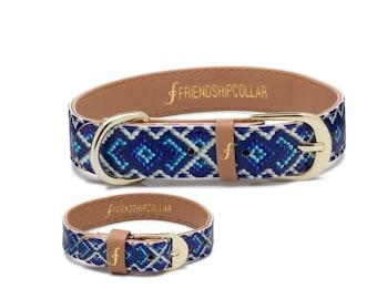 Friendship Collar FriendshipCollar- The Mucky Pup - Dog FriendshipCollar and matching friendship bracelet #friendshipcollar