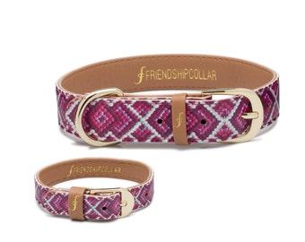 Friendship Collar FriendshipCollar The Pedigree Princess - Dog FriendshipCollar and matching friendship bracelet #friendshipcollar
