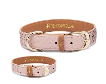 Friendship Collar FriendshipCollar- Puppy Love - -Dog FriendshipCollar and matching friendship bracelet #friendshipcollar