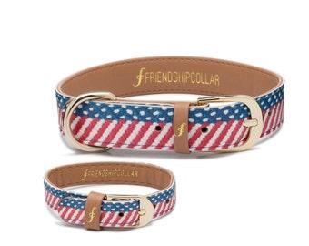 Friendship Collar FriendshipCollar The Presidential Dog - Dog FriendshipCollar and matching friendship bracelet #friendshipcollar