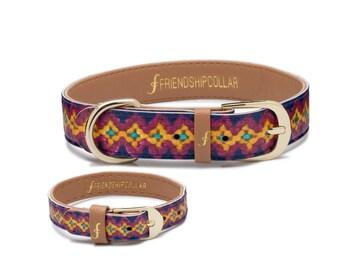 Friendship Collar FriendshipCollar-  The Pampered Pooch - -Dog FriendshipCollar and matching friendship bracelet #friendshipcollar