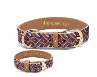 Friendship Collar FriendshipCollar The Mischief Maker-  Dog FriendshipCollar and matching friendship bracelet #friendshipcollar