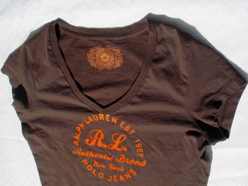 Clothing Rrl Retro Women Shirt Lauren For Tshirt Polo T Shirts Vintage Ralph Rockabilly edxoCBrW
