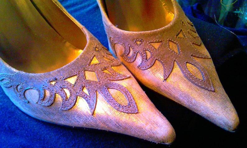 c9d89a254b77 Leather Stiletto Pumps Luichiny Vintage High Heels Genuine