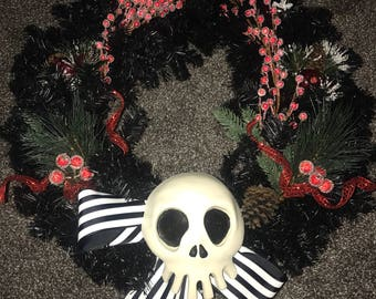 Haunted Mansion Jack Skellington Replica Wreath