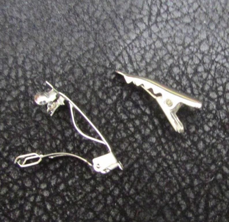 Mo/'s USA Dog Bow 58 single loop black and white yorkie bow+