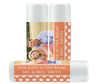 Lip Balm Labels - Personalized Lip Balm Labels - Photo Balm... labels - 1 Sheet of 12 Lip Balm Labels - Custom Lip Balm Labels
