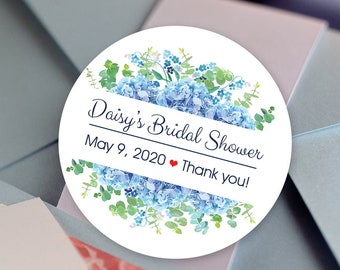 Bridal Shower Stickers, Custom Bridal Shower Labels - Round Bridal Shower labels - Bridal Shower Stickers - Bridal Shower Candy Stickers