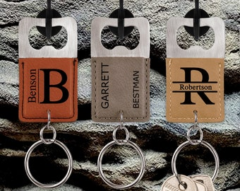 Personalized Key Chain | Custom Bottle Opener |  Engraved Bottle Opener | Gift For Him | Gift for Her | Birthday Gift | Wedding Gift