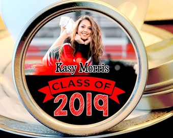 Graduation Party Mint Tins -  Graduation Party Supplies - Graduation Party Ideas - Graduation Party Favors -  Graduation - Set of 12