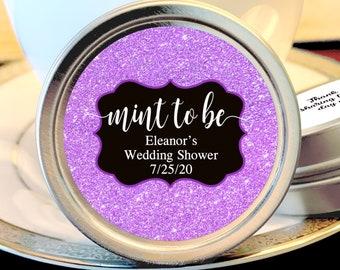 Mint to Be Wedding Favors - Wedding Shower Favors -  Bridal Shower Favors - Rehearsal Dinner Favors - Mint Favors - Silver Wedding Favors