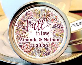 Fall Wedding Mint Favors - Fall Wedding Favors - Fall in Love Bridal Shower - Mint  Wedding Favor - Wedding Favors for Guests - Fall in Love