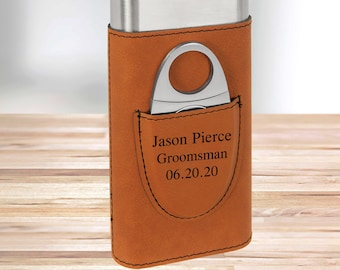 Personalized Monogram Cigar Holder | Saddle | Gifts for Dad | Gifts for Him | Groomsmen Gifts | Boyfriend Gifts | Christmas Gift