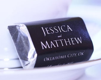 Personalized Hershey's Chocolate Wrappers - Nugget Wrappers - Nugget Candy Stickers - Miniature Candy Wrappers - Candy Stickers