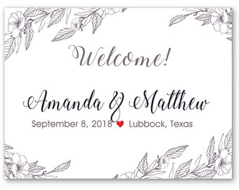 """4"""" x 3""""  Personalized Welcome Box Labels -  30 Wedding Welcome Bag Labels - Favor Labels - Welcome Stickers - Box Stickers"""