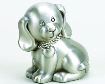 Puppy Bank - Personalized Dog Bank - Child's Puppy Bank - Kids Puppy Bank - Coin Bank - Small Christmas Gift