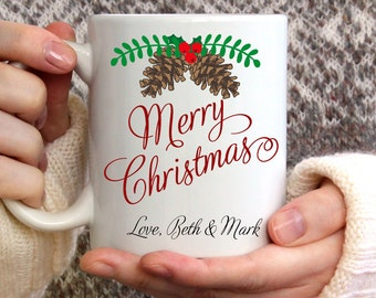 Merry Christmas Mug, Christmas mug, Winter Mug, Coffee Mug, Winter Coffee Mug, Snowflake Mug, Christmas Coffee Mug, 15 oz mug,