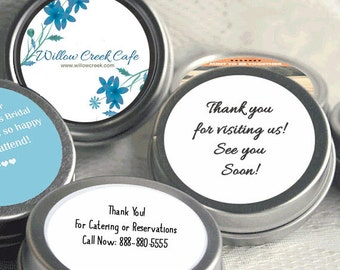 Your Logo Business Mint Tins