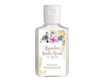 Gender Reveal Baby Shower Favor | Hand Sanitizer Label | Boy or Girl Baby Shower Labels | Pink Baby Shower | Blue Baby Shower