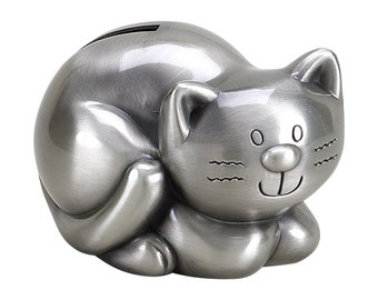Kitty Cat Bank - Personalized Kitty Bank - Child's Kitten Bank - Kids Kitty Bank - Coin Bank - Cat Bank