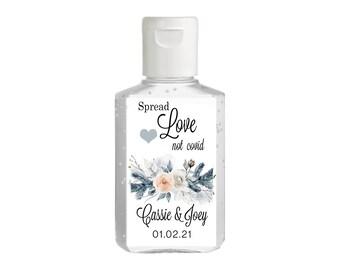 Purell hand sanitizer labels 2 oz. size - Bridal Shower Labels - Hand Sanitizer Labels - Bridal Shower Decor - l Wedding sanitizer labels