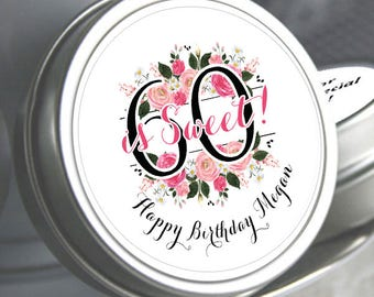 Candy Tins - Mint Favors