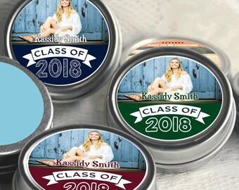 Graduation Party Mint Tins -  Graduation Party Supplies - Graduation Party Ideas - Graduation Party Favors -  Graduation - Set of 12