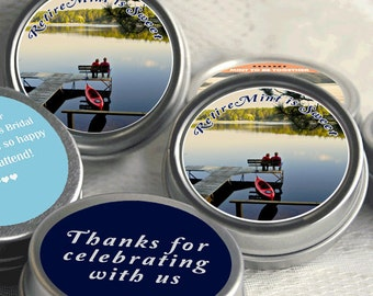 12 Retirement Mint Tins - RetireMints - Chevron - Retirement Favors - Retirement Decor - Retirement Mints - Retiremint is sweet