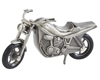 Personalized Motorcycle Bank -  Coin Bank - Personalized Motorcycle Shaped Bank - Coin Bank Gift - Personalized Bank - Engraved Bank