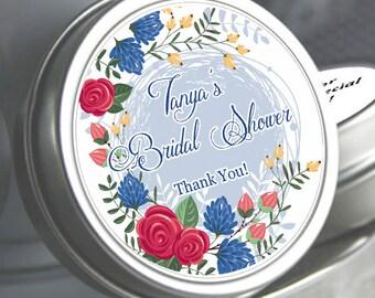 Bridal Shower Mint Tins, Personalized Mint Favor Mint to Be Wedding Favor Personalized Bridal Shower Favor, Mint Tin Favors