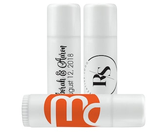 Your Artwork Clear Lip Balm Labels - Lip Balm Labels - We print your artwork - 1 Sheet of 12 Lip Balm Labels - Custom Clear Labels