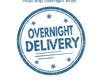 Overnight to 2 day Letter Shipping upgrade  - USPS Priority Mail Express Service Upgrade from Priority Mail