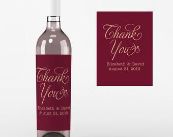 Water Bottle/Wine Labels