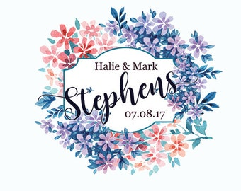 """4"""" x 3""""  Personalized Welcome Box Labels -  30 Wedding Welcome Bag Labels - Wedding Favor Labels - Welcome Stickers - Box Stickers"""