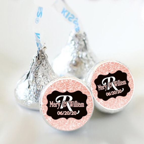 324 Personalized Baby Shower Labels Birthday Nautical Hershey Kiss Favors Seal