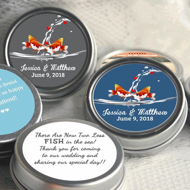 bfaa5994c Wedding Decor Wedding Favor Mint Tins Personalized Wedding