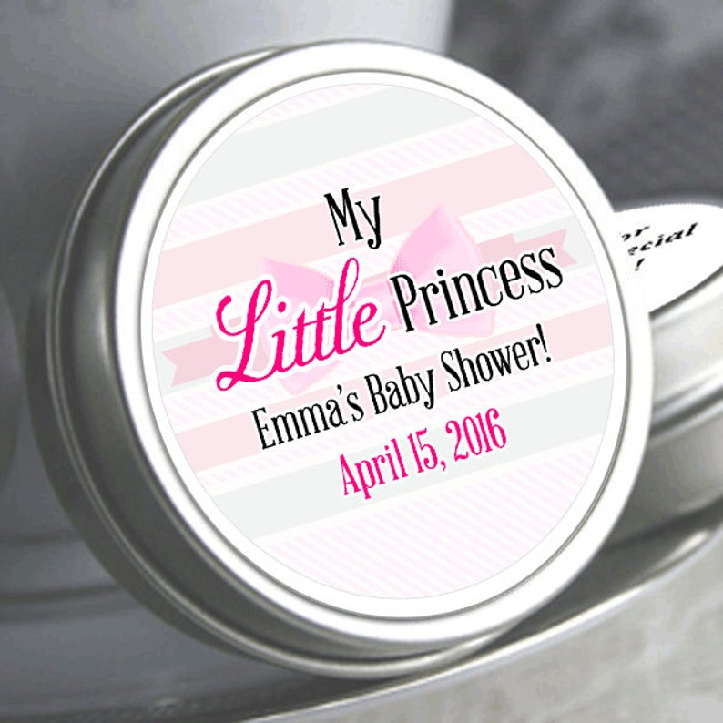 Need a different quantity Girls Baby Shower Candy Little Princess Baby Shower Favors Click on the choose total tab to see all pricing