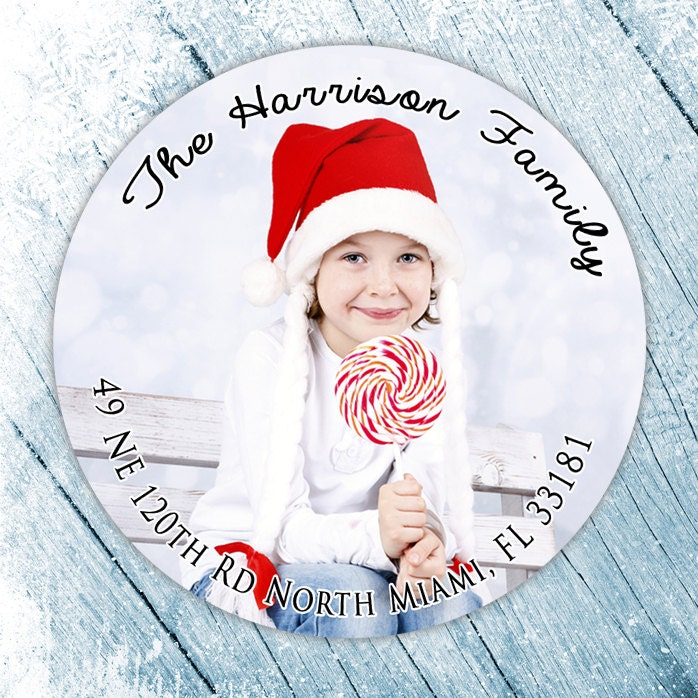 round christmas address labels round labels for christmas cards