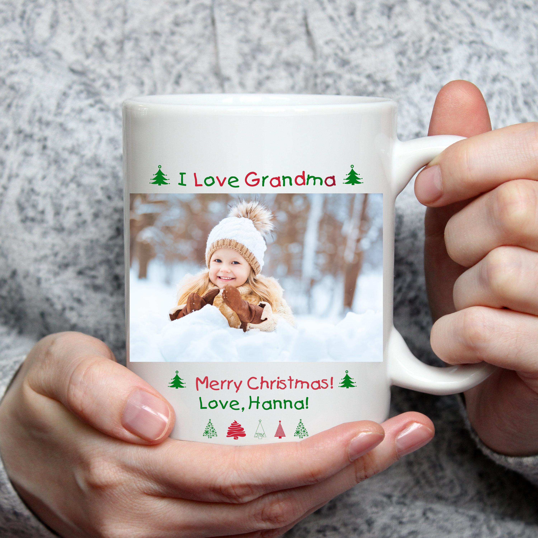 Christmas Photo Mug Personalized Christmas Mug Winter Mug Coffee Mug Winter Coffee Mug Snowflake Mug Christmas Coffee Mug 15 Oz Mug
